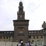 Castello Sforzesco, Milano, Lombardia, Italia. Autore e Copyright Marco Ramerini
