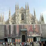 Duomo, Milano, Lombardia, Italia. Autore e Copyright Marco Ramerini