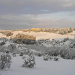 Neve nel Chianti, Barberino Val d'Elsa, Firenze. Author and Copyright Marco Ramerini