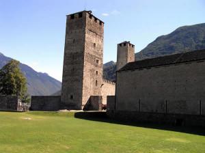 Bellinzona, Ticino, Svizzera. Autore e Copyright Marco Ramerini